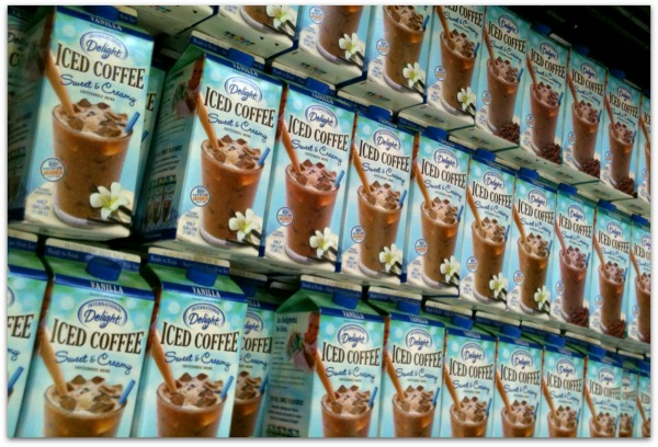 tons of International Delight Iced Coffee cartons