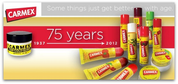 Carmex celebration giveaway