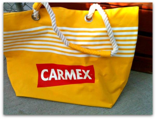 Carmex boat tote
