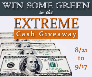 Win Some Green – Extreme Cash Giveaway!