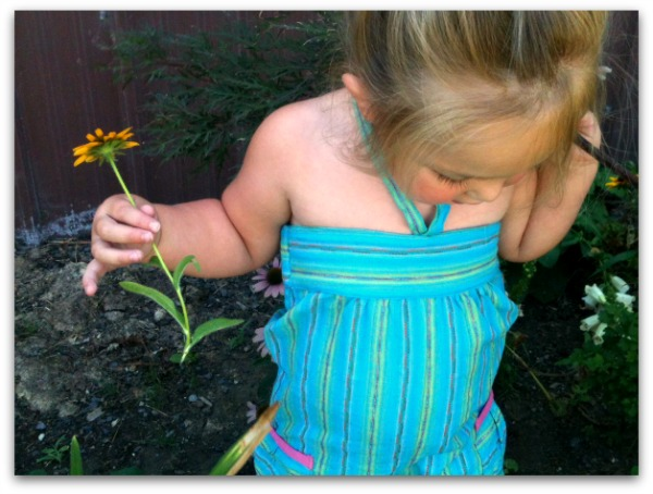 little girls garden fashion
