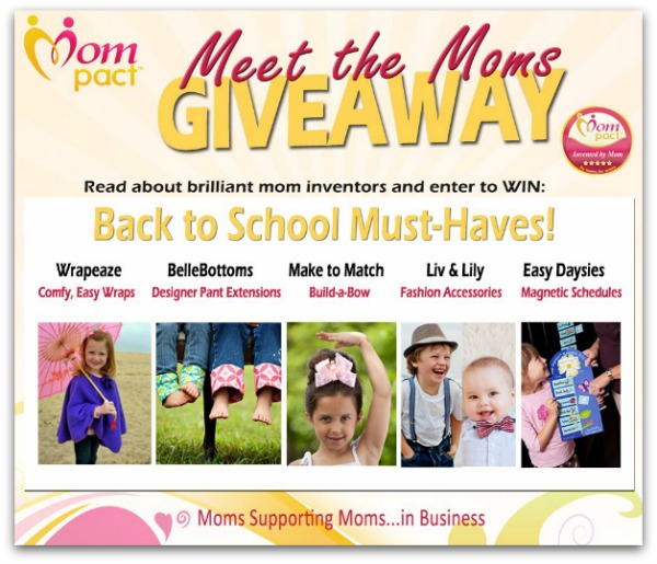 Moms Back to School Swag Giveaway! #Mompact