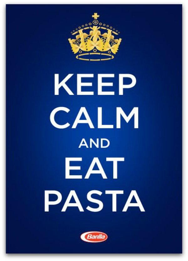 Keep Calm and Eat Pasta
