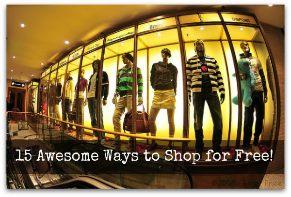 15 Awesome Ways to Shop for Free