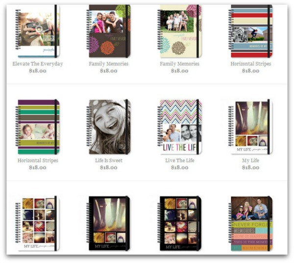 personalized photo journals
