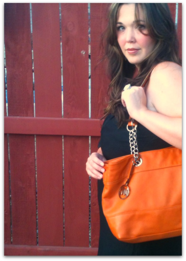 pumpkin purse and fall fashion
