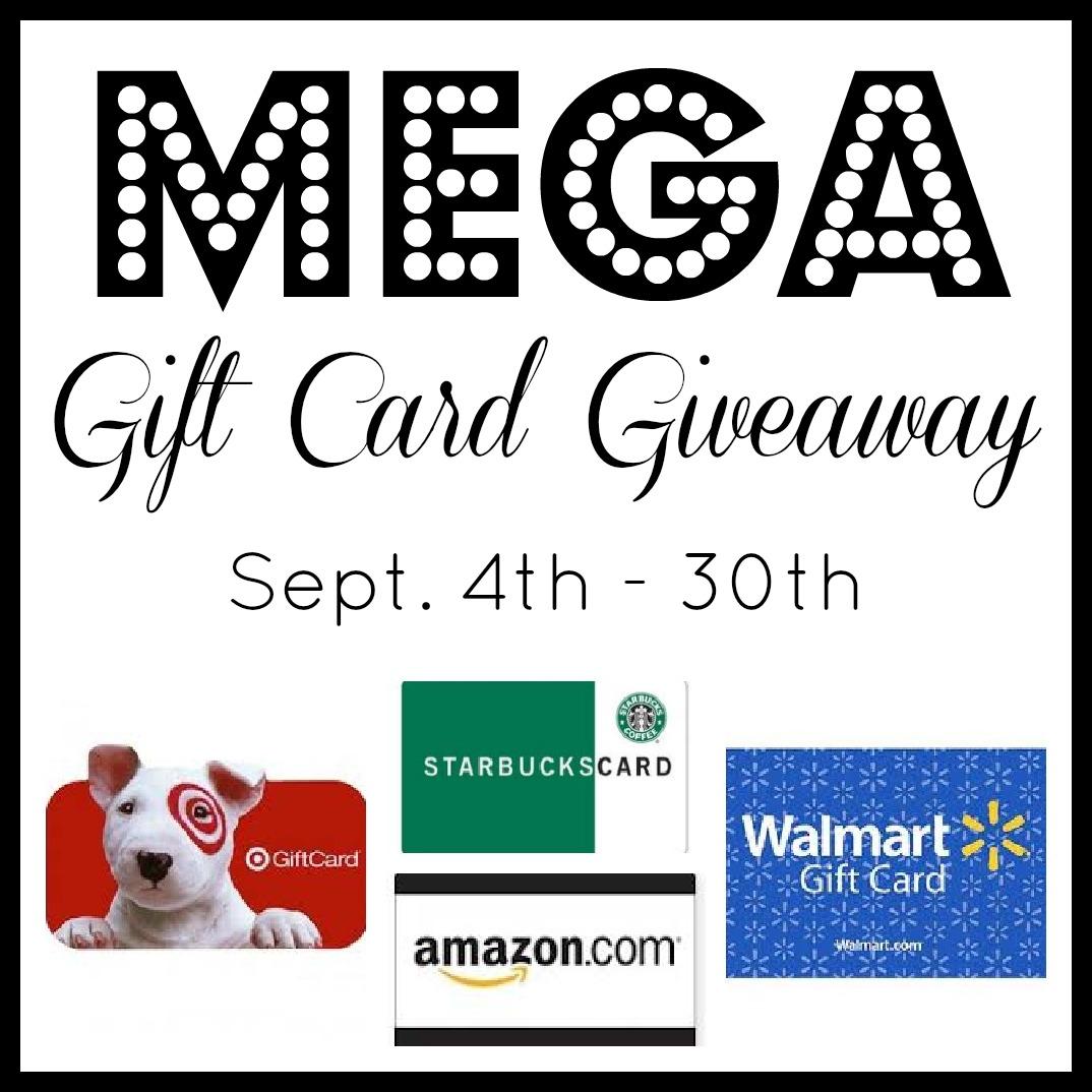 $400 Mega Gift Card Giveaway