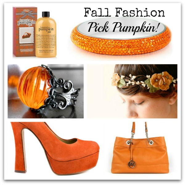pick pumpkin for fall fashion - pumpkin fashions