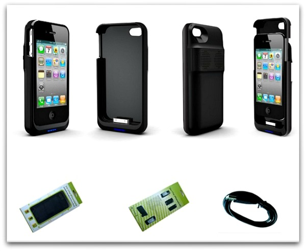 Battery Charging Speaker Case for iPhone 4/4s