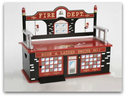 firefighter toy box