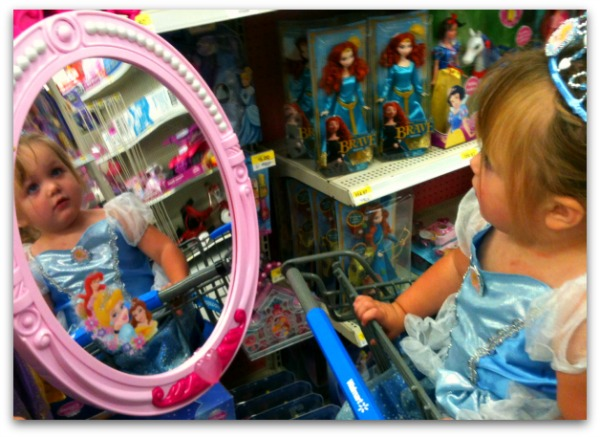 Cinderella toys at Walmart