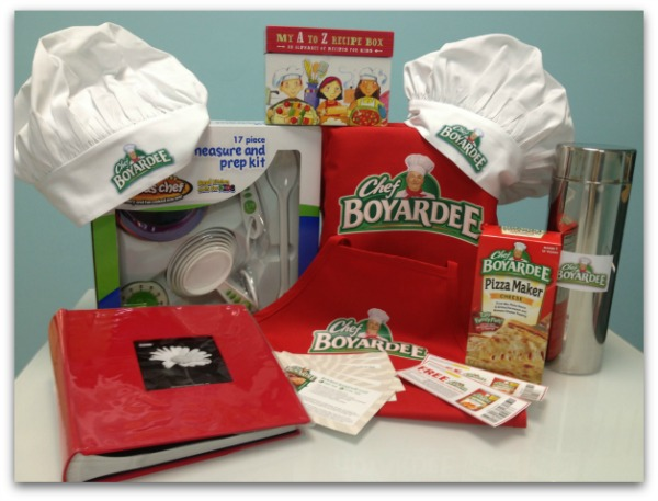 Chef Boyardee dinner - cookin' with kids