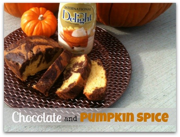 Homemade Chocolate & Pumpkin Spice Swirled Fall Dessert Bread