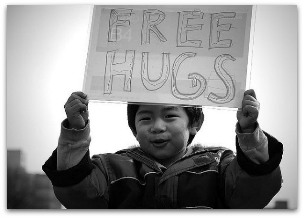 Free Hugs - Anti-Bullying Month