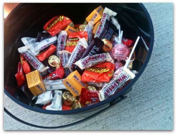 Hershey Candy for Trick or Treaters