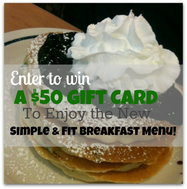 Simplify Breakfast – Win a $50 IHOP Gift Card! #BreakfastLove