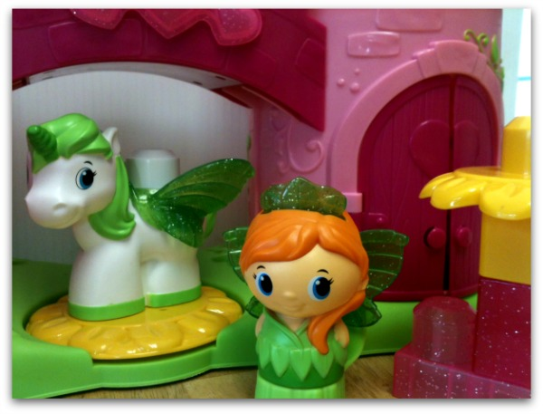 Princess playset for toddlers