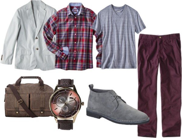 Rugged Dressy Look for Modern Men