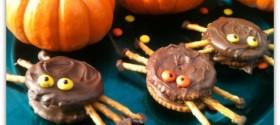 Halloween Spooky spider cookies