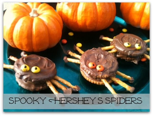 Spooky HERSHEY'S Halloween Spider Cookie Recipe
