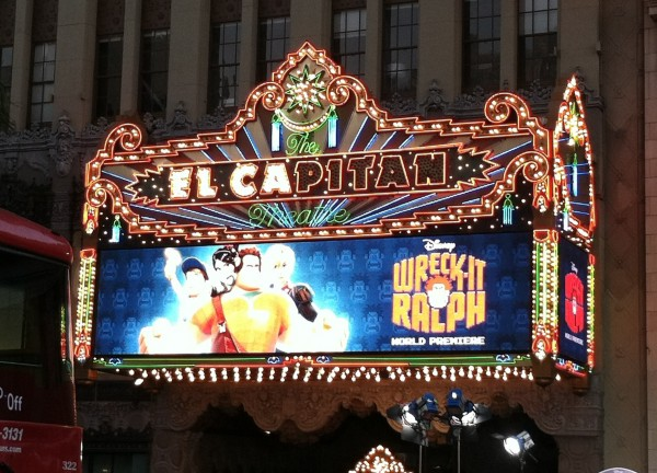 Wreck-It Ralph at El Capitan