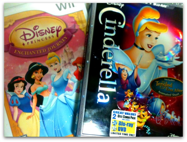 Cinderella on BluRay - and Disney Princesses on the Wii