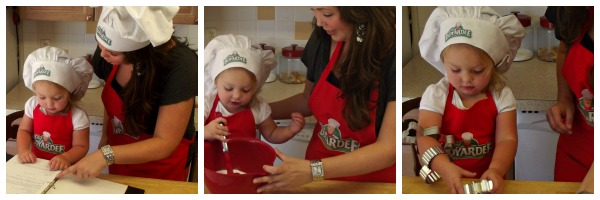 cooking in the kitchen with kids - Chef Boyardee