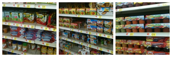 Shopping for healthy snacks for kids