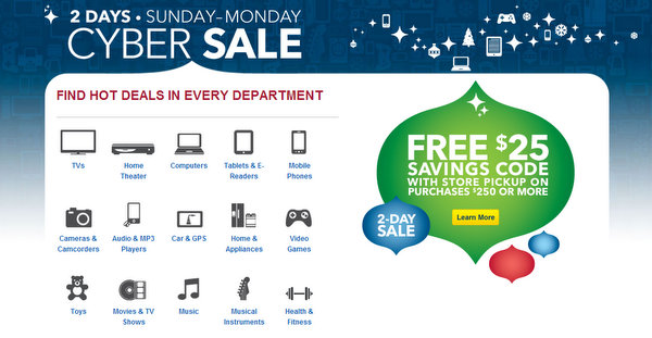 electronics sale sunday and monday - Cyber Sale at Best Buy