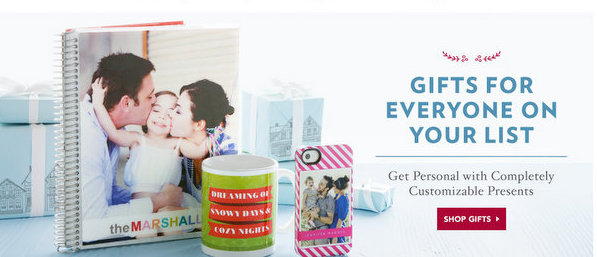 Get Personal with Completely Customizable Photo Gifts – #CyberMonday