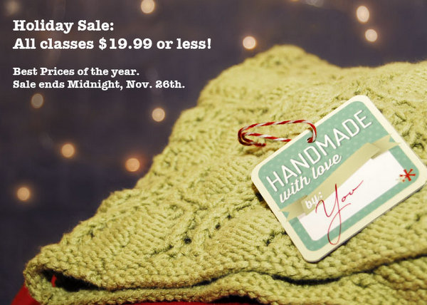 Create Your Own Handmade Gifts that Rock – Learn How! #CyberMonday