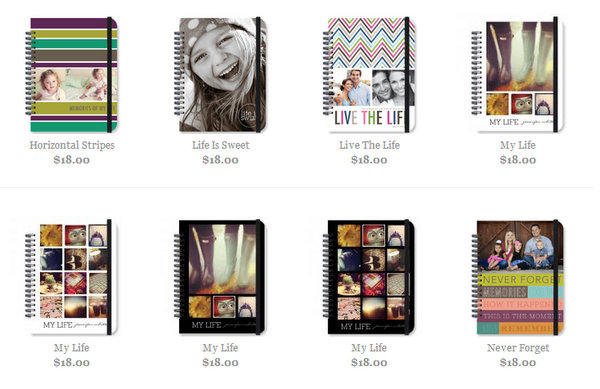 photo journals 50% off - including Instagram journals