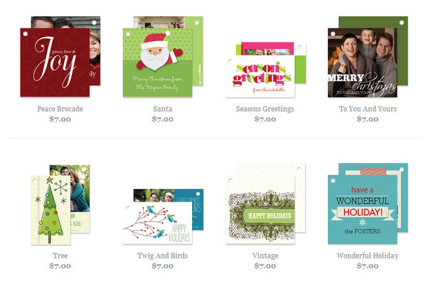 photo holiday gift tags half off