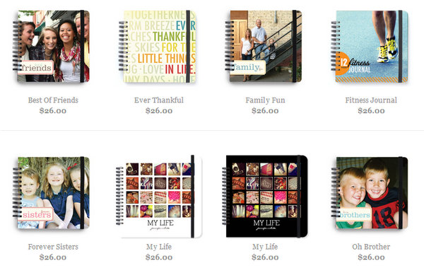 50% off spiral bound photo books
