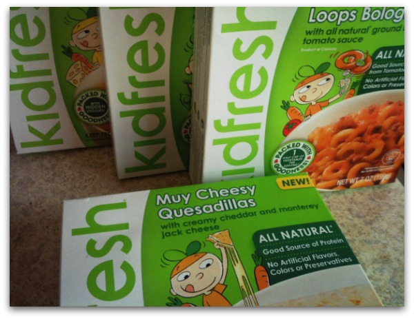 Kidfresh frozen healthy kids meals at Safeway