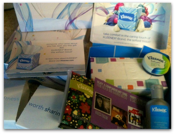 How to give back during cold and flu season - Free Kleenex care packs