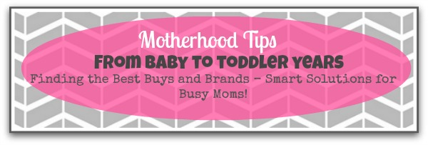 Motherhood tips - baby to toddler