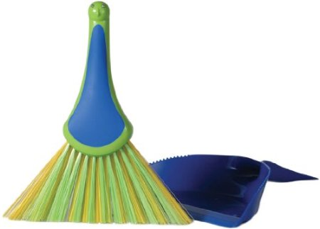 Peacock Dustpan and Brush set