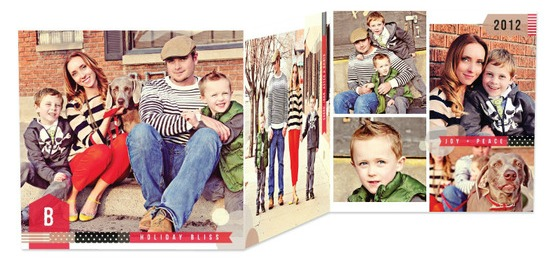 Tell a story with your holiday cards