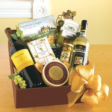 Affordable wine gift baskets