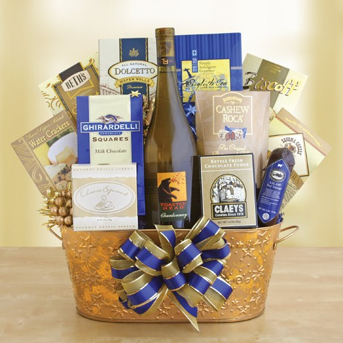pick a theme for a wine gift basket