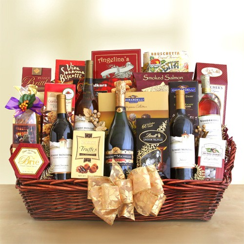 Make the perfect wine gift basket