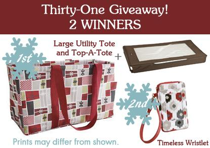 Thirty-One Holiday Gifts #Giveaway!