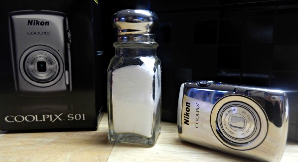 Camera that's smaller than a salt shaker