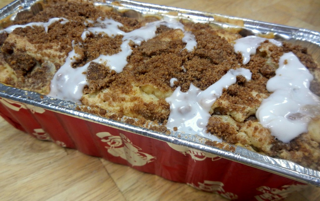 Recipe for Cinnamon Streusal Coffee Cake Bread