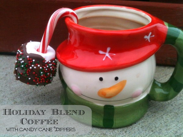 Starbucks holiday blend coffee with marshmallow dippers