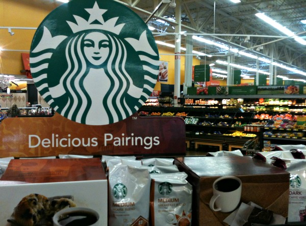 Delicious Pairings: Starbucks Holiday Blend coffee and Walmart Bakery cinnamon rolls