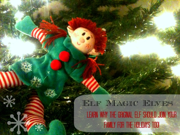 The real elf on the shelf - and what are all these elf pics about?