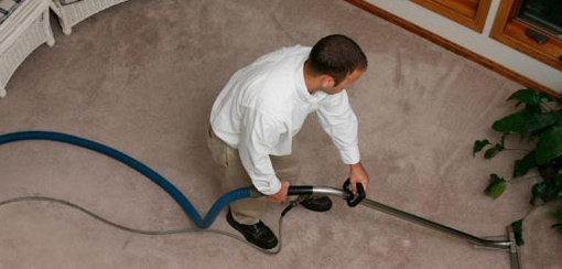 How often should I professionally clean my carpets?