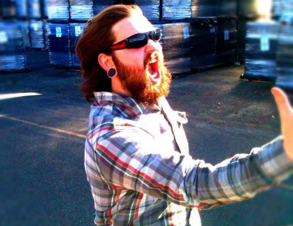 Epic warehouse beard guy